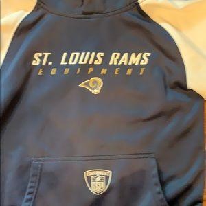 Boys Rams hoodie